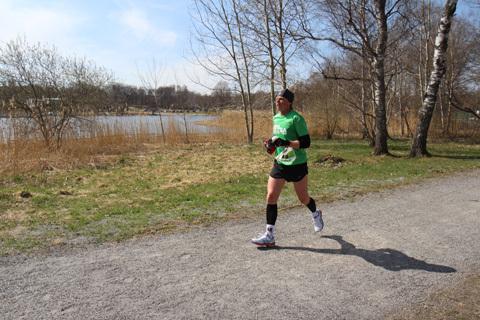 Nikolina & Daniel snabbast i Lidingö Ultra
