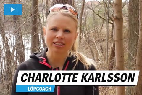 Charlottes tips för Stockholm Marathon