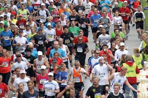 Fyll tanken under Stockholm Marathon