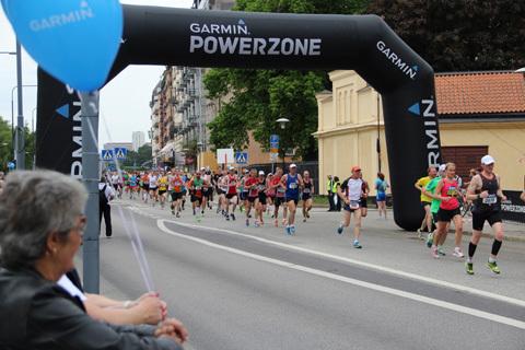 Garminbloggarnas Stockholm Marathon