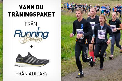 Vann du träning & skor för Lidingöloppet?