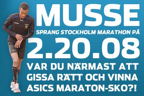 Gissade du rätt på Musses maraton-tid?