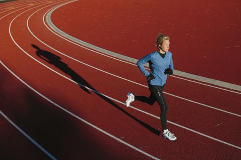 Våga springa dina pass på löparbana