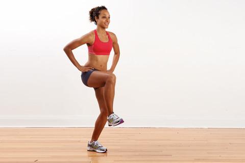 Fotarbete som ger dig fart och löpstyrka