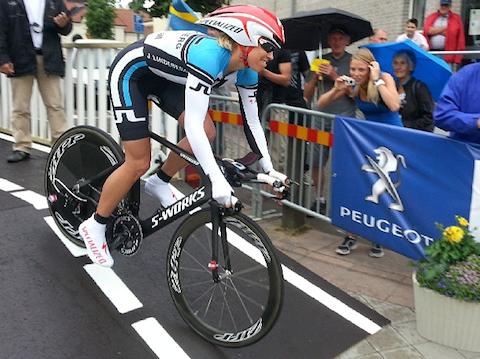 Triathleter utmanade på cykel-SM