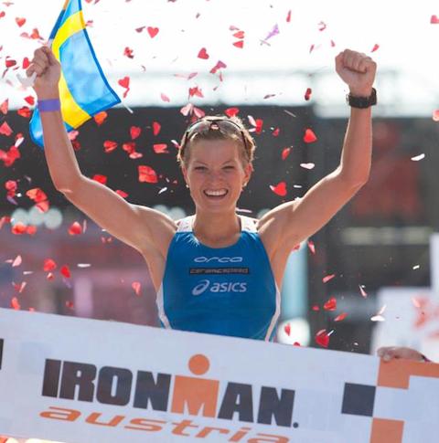 Åsa Lundström slog rekord i Klagenfurt