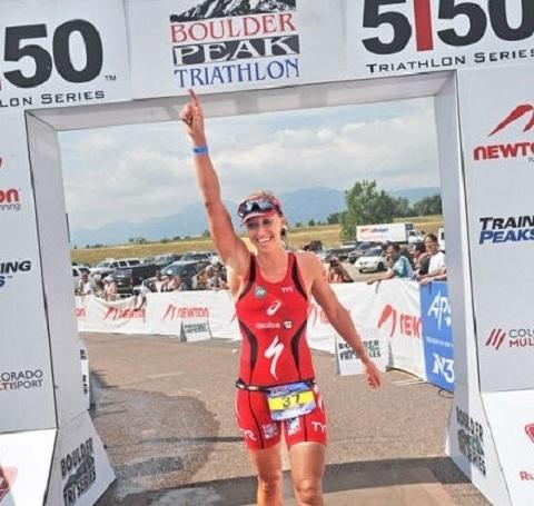 Lisa vann Boulder Peak 5150
