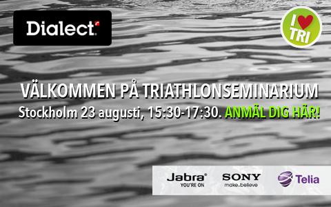 Inspiration inför Vattenfall World Triathlon Stockholm