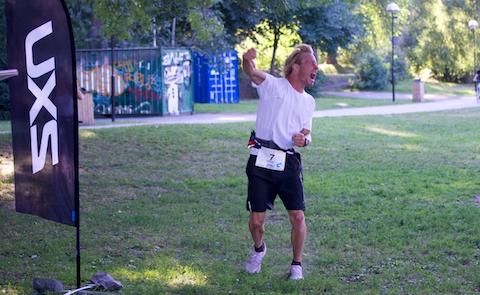 Filip Larsen vann UltraTri Sweden
