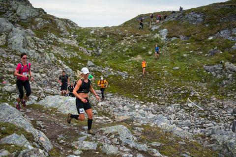 Fjällmaratonveckan igång med halvmara