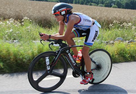 Eva Nyström klar för Ironman Hawaii