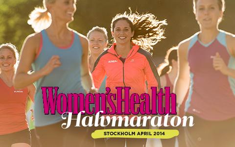 Spring nya Women's Health Halvmaraton