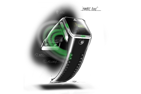 """Adidas lanserar GPS-klockan """"Smart Run"""""""