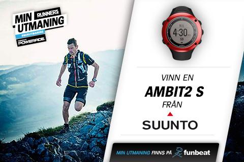 Tävla om klockan Ambit2 S från Suunto