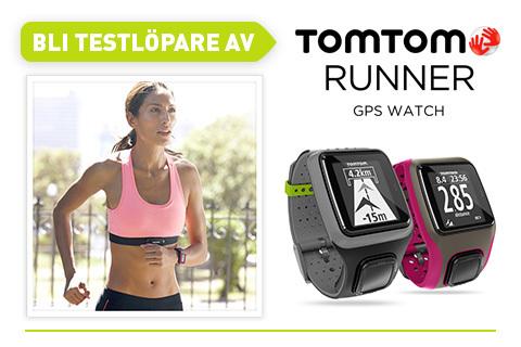Bli testlöpare av Tomtoms nya gps-klocka