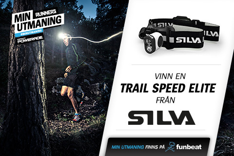 Tävla om pannlampan Trail Speed Elite