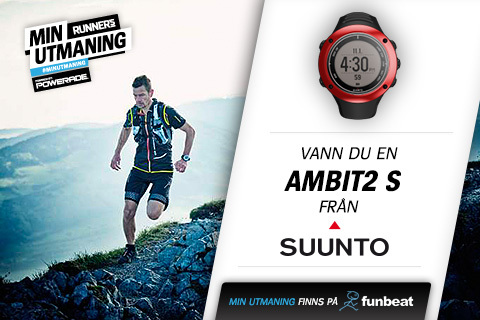 Vann du klockan Ambit2 S från Suunto?