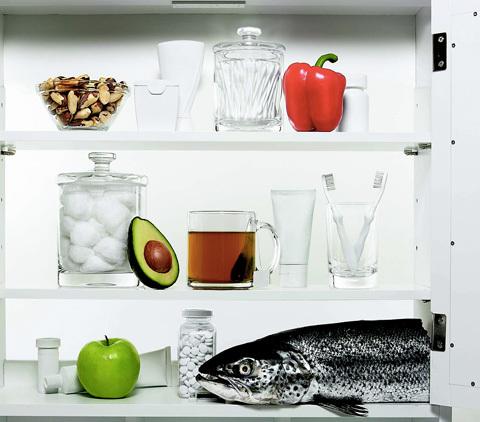 Håll dig frisk med hjälp av rätt mat