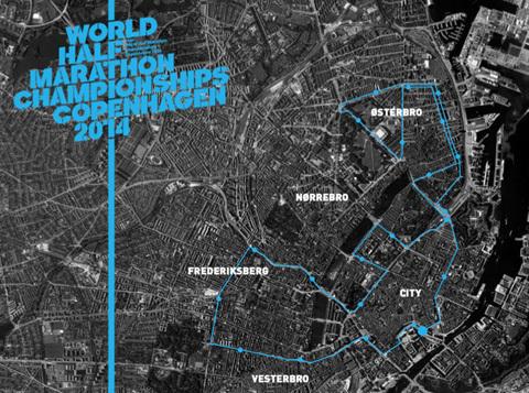 Du kan springa VM i halvmarathon 2014!