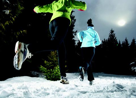 Rätt utrustning för vinterlöpning