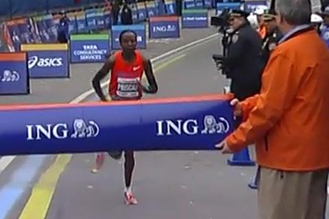 Favoriterna vann New York City Marathon