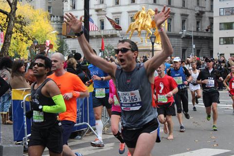 Se vårt bildspel från New York Marathon!