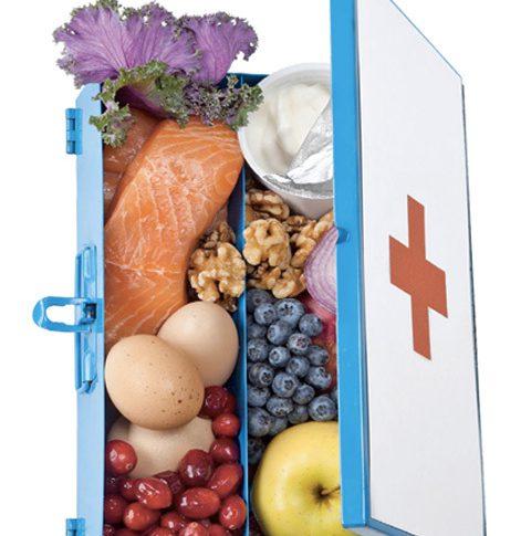 Snabbare skadefri med hjälp av rätt kost
