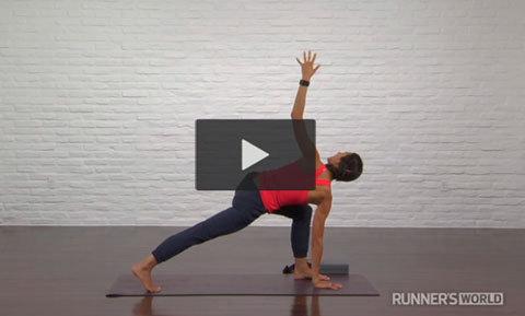 Yogarörelser som förebygger löparskador