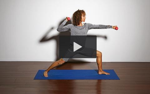Yoga och styrketräning i ett – se filmen!