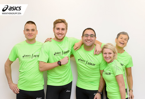 Möt utmanarna i ASICS marathongrupp!