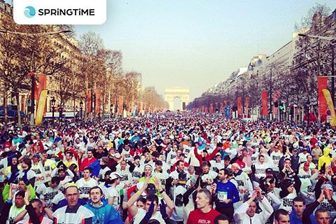 Vinn startplats till Paris Marathon 2014