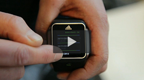 Adidas demonstrerar Micoach Smart Run