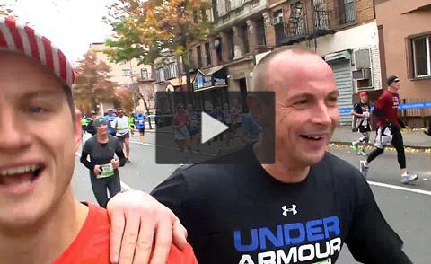 Jojje och Petter springer N.Y Marathon!