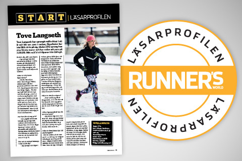 Är du nästa läsarprofil i Runner's World?