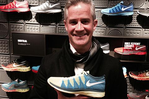 Samtal med designern av Nikes löparskor