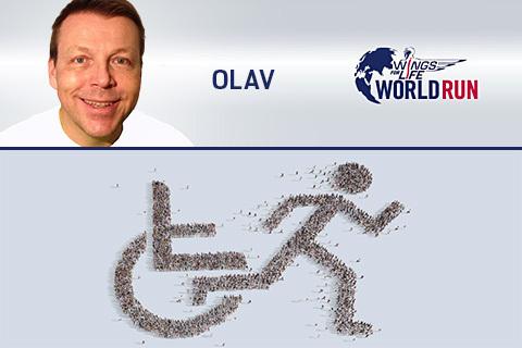 Olav bloggar om Wings for life World Run