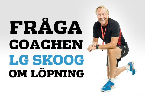 Fråga vår coach LG Skoog om löpträning