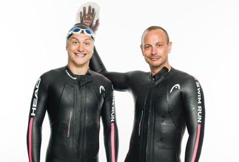 Ny blogg: Petter & Jojje mot Swim Run