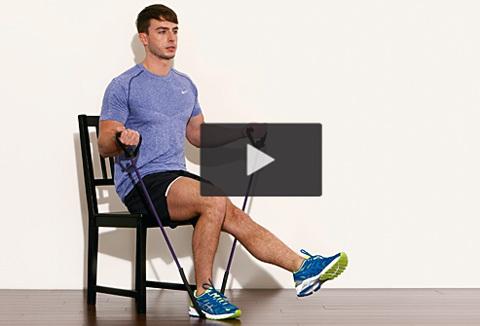 Bli en starkare löpare med gummiband