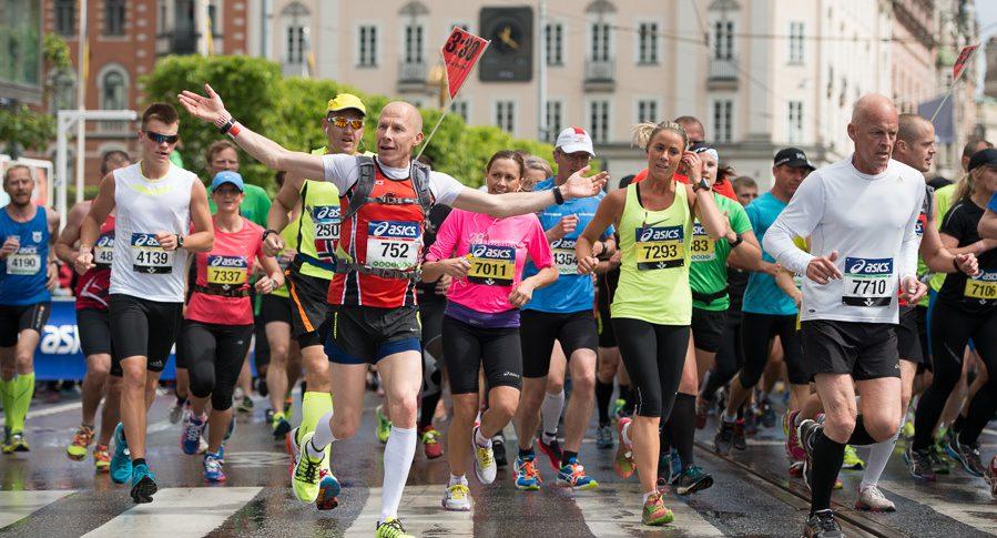 Bildspel 2 från Stockholm Marathon 2014