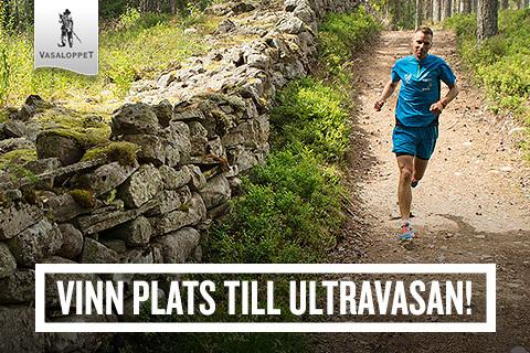 Tävla om en startplats till Ultravasan 45