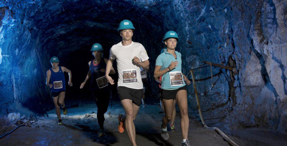 Nu kommer Sveriges enda lopp i gruva