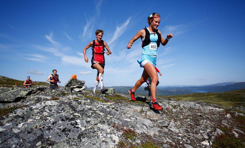 Seger och banrekord av Emelie och Erik på AXA Fjällmaraton