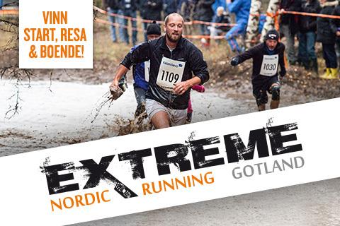 Vinn start till Nordic Extreme Running
