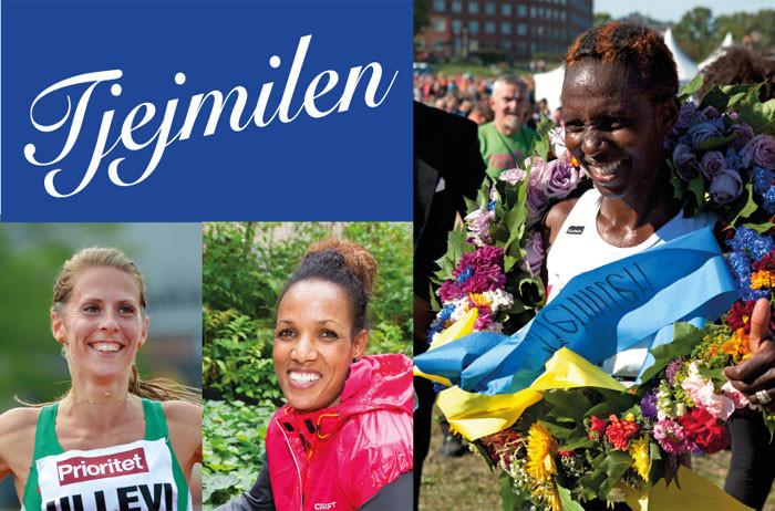 Bahta, Fougberg & Isabellah springer årets upplaga av Tjejmilen