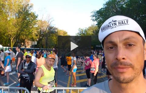 Petter springer Brooklyn Halvmaraton!