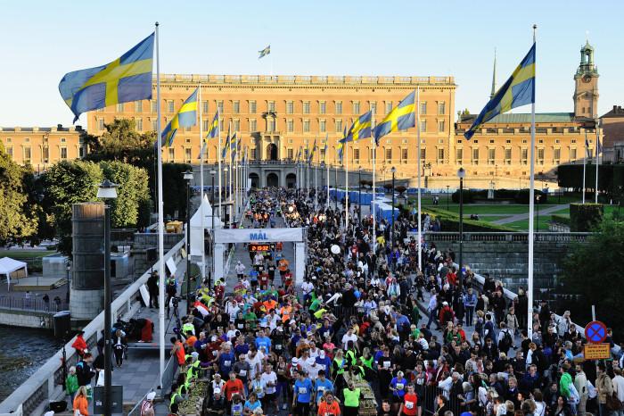 Lama & Eliasson vann SM-Guld i Stockholm Halvmarathon 2014