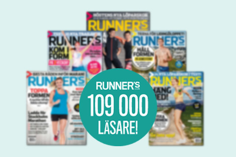 Runner's World nu 109000 läsare!