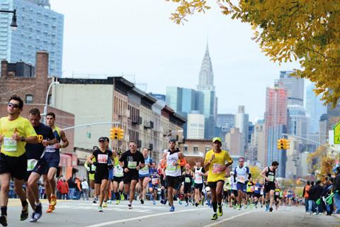 Topplöpare till New York Marathon