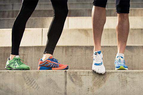 Snöra rätt och spring lättare